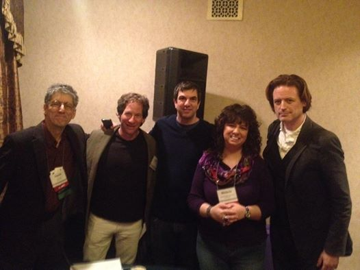 Humorists on Parade--Yours truly, Dan Zevin, AJ Jacobs, Michele Wojciechowski and stand-up comic  John Fugelsang on a humor panel I moderated at the American Society of Journalists and Authors  Conference in NYC
